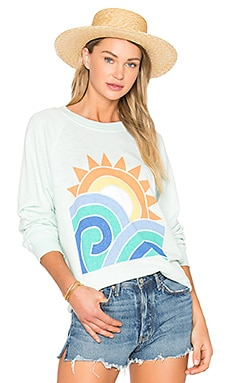 Sun and Surf Top in Iced Mint