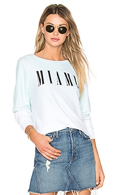 Miami Top en Iced Mint
