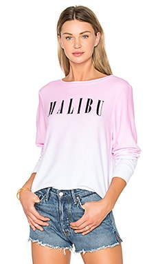 Malibu Top en Flamant Rose