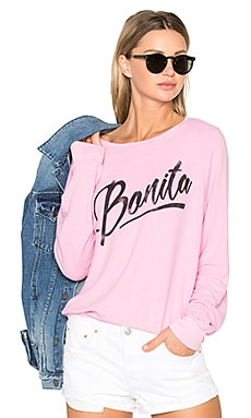 Senorita Bonita Top en Flamant Rose