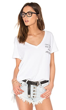 Daytime Napper Tee in Clean White