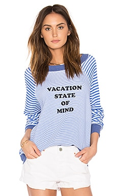 Vacation State of Mind Top in Multi Colored