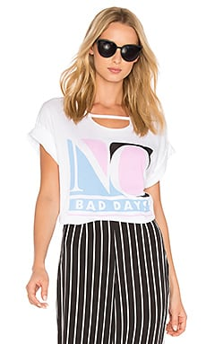 No Bad Days Tee in Clean White
