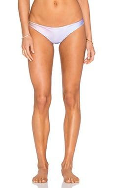 Wildfox Couture New Skin Reversible Brazilian Bikini Bottom in Pastel