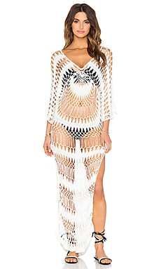 Wildfox Couture Mermaid Dress in Ivory