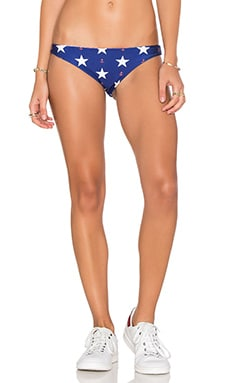 Stars Away Gingham Bikini Bottoms in Sailor