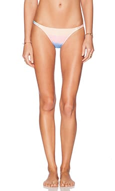 Wildfox Couture Split String Bikini Bottom in Rainbow