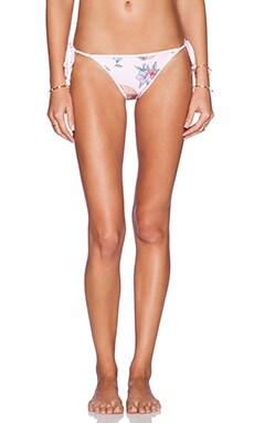 Wildfox Couture Hamburger & Club Stripe Reversible Bikini Bottoms in Multi