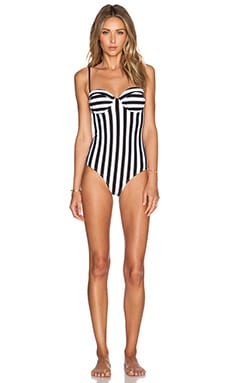 DREAMHOUSE STRIPE SWIMSUIT