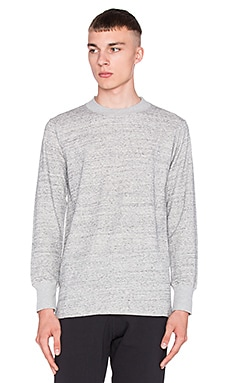 Wil Fry Long Sleeve Thermal in Pepper