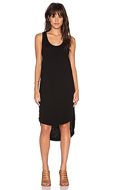 Wilt Shirttail Tank Dress in Black