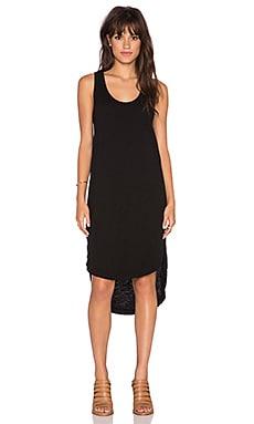 Wilt Shirttail Tank Dress in Black
