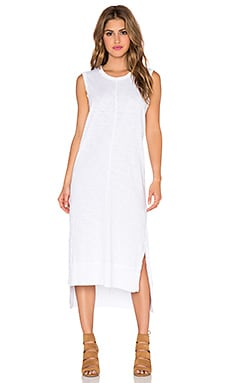 Wilt Shifted Tank Dress in White
