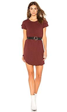 Купить Платье-футболка - Wilt цвет вишня