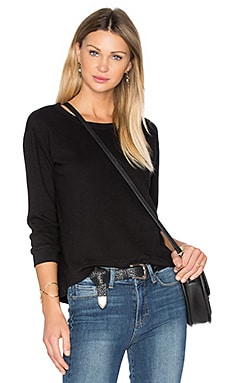 Shrunken Crop Sweatshirt – Basic Black