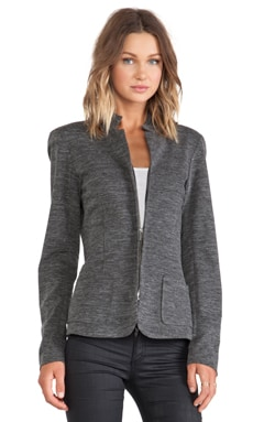 Wilt Zip Blazer in Black