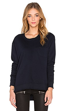 Wilt French Terry Easy Pocket Sweatshirt in Night
