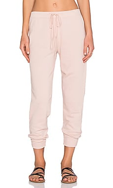 Wilt French Terry Shrunken Sweatpant in Putty