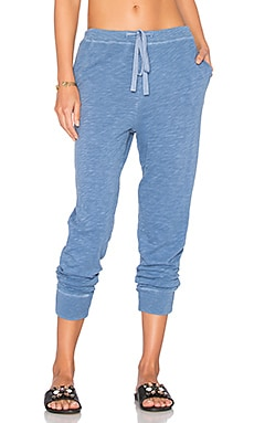 Crop Sweatpant in China Blue