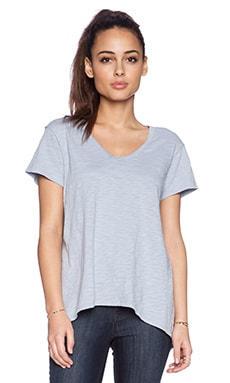 Wilt Short Sleeve Slouchy BF in Baby Sky