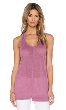 Wilt Shift Slouchy Tank in Pepper