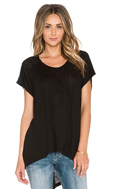 Wilt Slouchy Shift Tee in Black