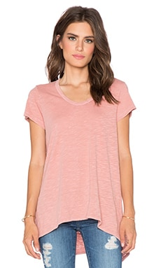 Wilt Shrunken Tee in Salmon