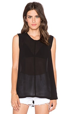 Wilt Trapeze Shell Tank in Black