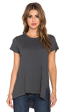 Wilt Asymmetrical Slouchy Tunic in Moon