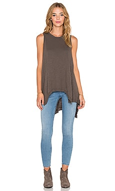 Wilt Panelled Tank in Muddy Charcoal