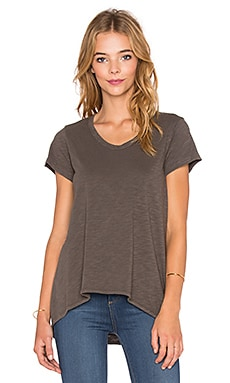 Wilt Shrunken Boyfriend Tee in Muddy Charcoal