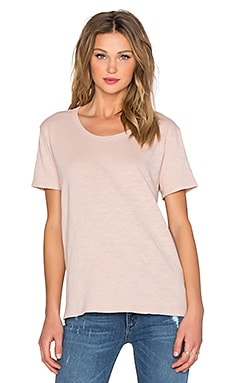 Wilt Slub Baby Crew Neck Tee in Putty