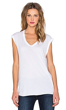Wilt Pima Muscle Tee in White