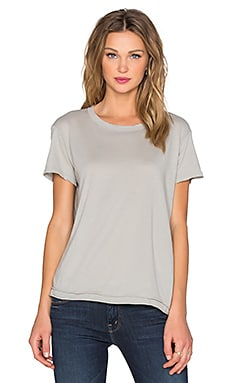 Wilt Pima Shrunken Crew Neck Tee in Fennel