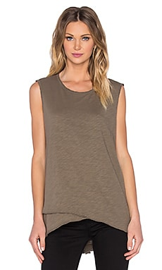 Wilt Slub Mock Layered Shell Tank in Tank