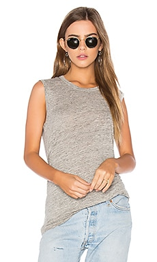 Muscle Tank in Grey Heather