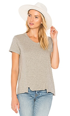 Shifted Seamed Pocket Tee