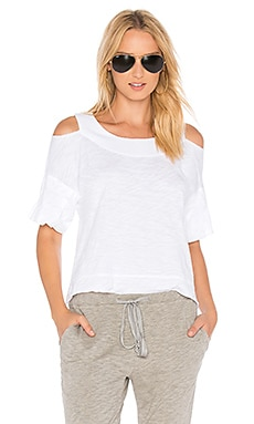 Boxy Cold Shoulder Tee