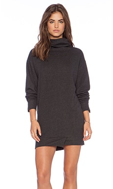 Winston White Colette Dress in Black Heather