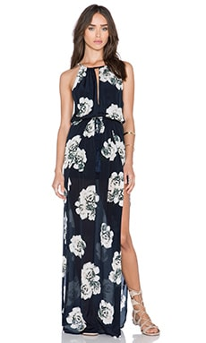 Winston White Riley Dress in Cream & Navy Floral
