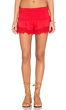 Balboa Beach Short in Red