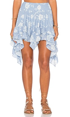 Winston White Chica Skirt in Sky
