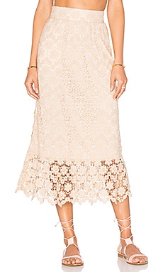 Gabriella Skirt in Champagne