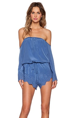 Winston White Chile Romper in Sky