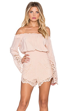 Winston White Mia Romper in Blush