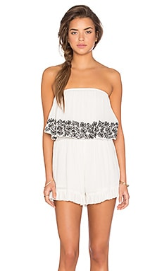 Winston White Diego Romper in Shell