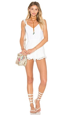 Winston White Vida Romper in Shell