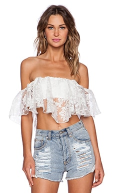 Winston White Viva Crop Top in White