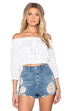 Winston White Ellie Top in Feather