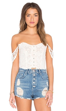 Winston White Sevilla Top in Shell